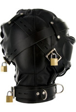 Strict Leather Extreem Bondage Hoofdmasker