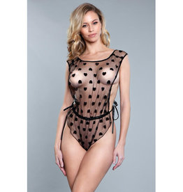 Be Wicked Natasha Body - Zwart