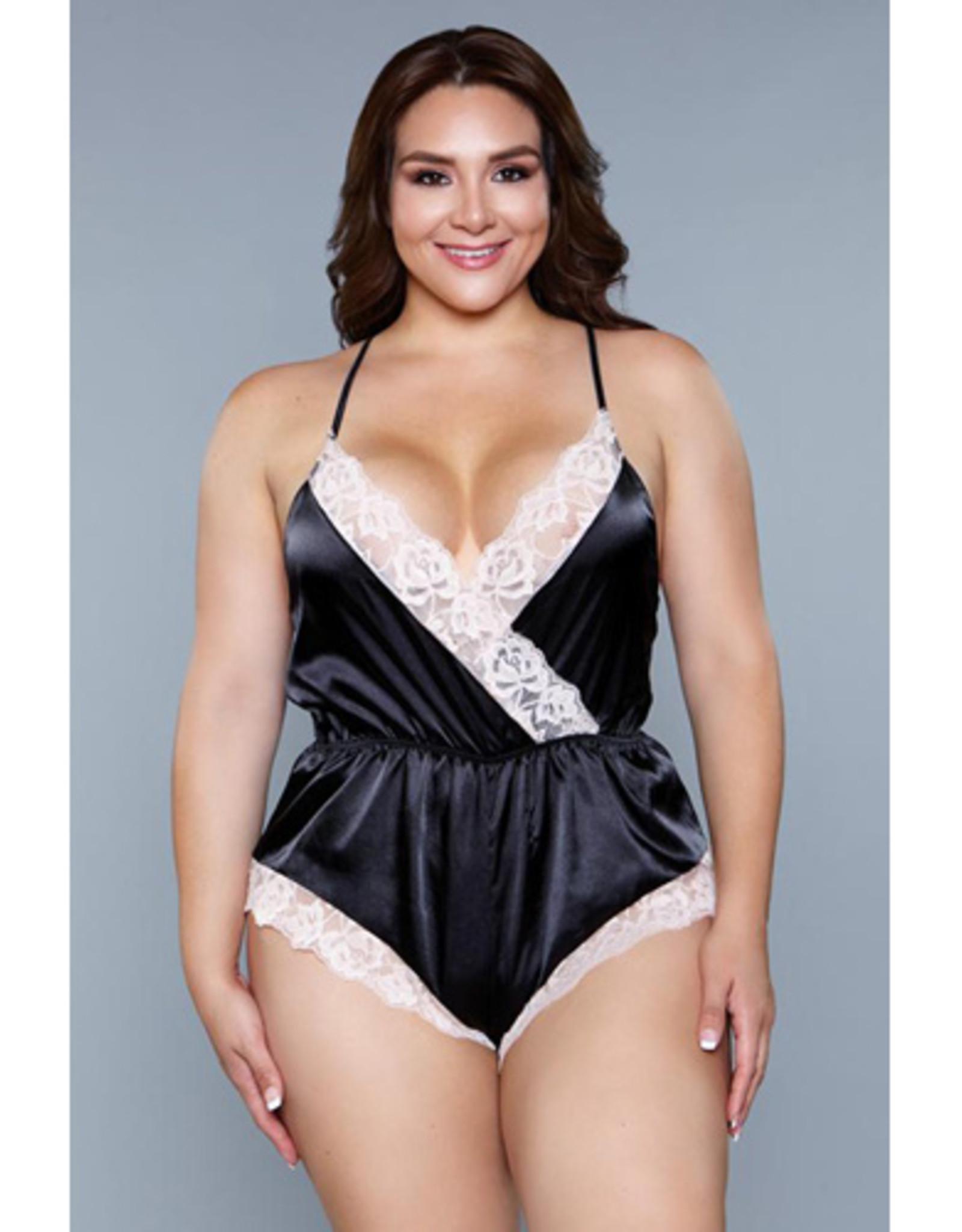 Be Wicked Kiara Romper - Plus Size
