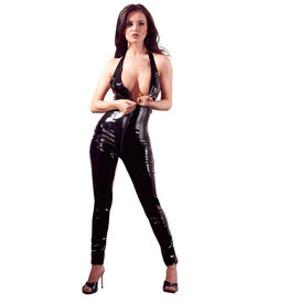 Black Level Lak Catsuit Met Open Kruis