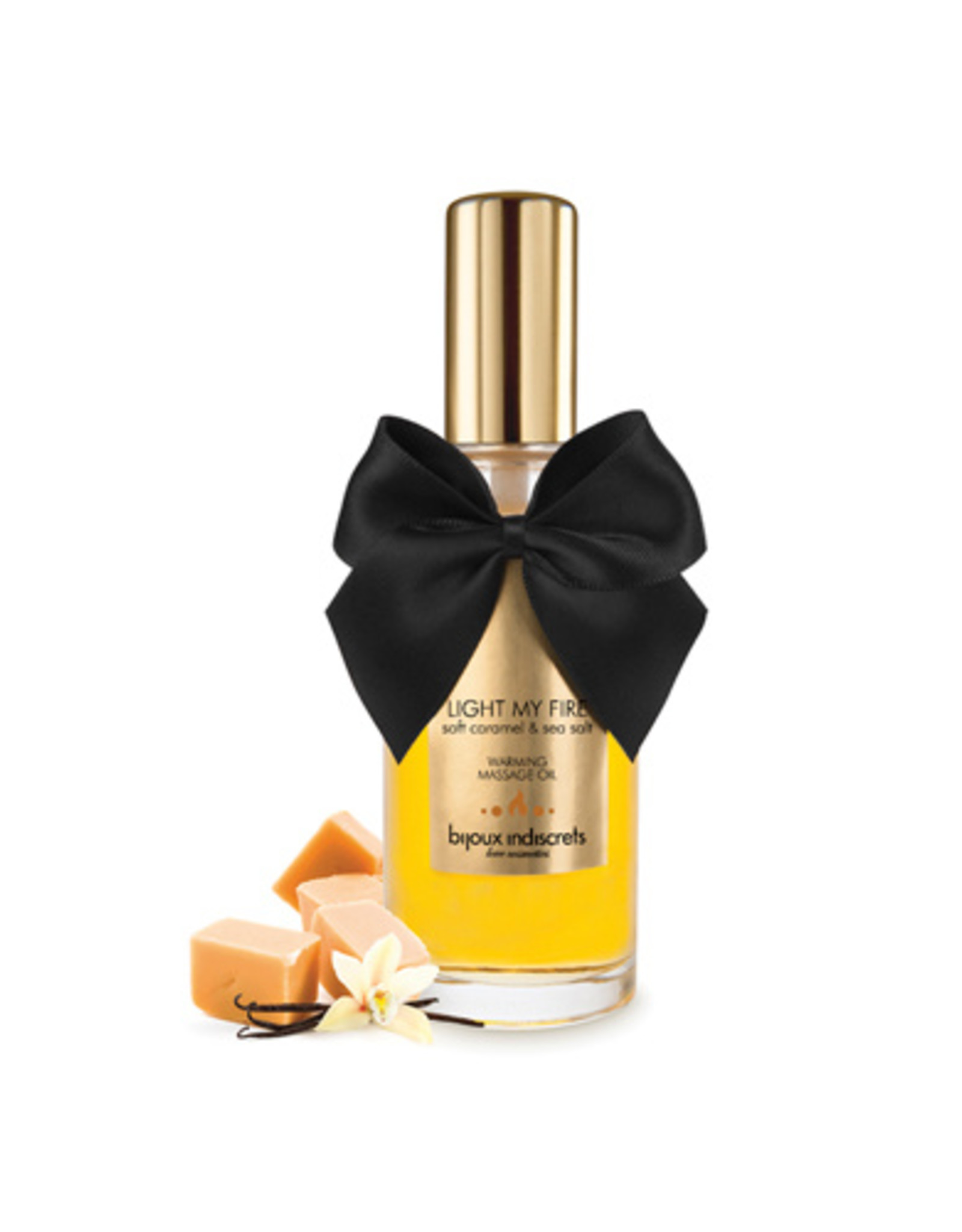 Bijoux Indiscrets Light My Fire - Soft Caramel Verwarmende Olie