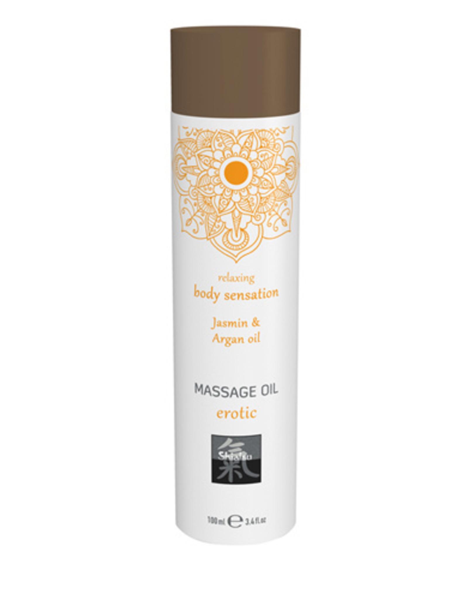 Shiatsu Erotic Massage Olie - Jasmijn & Arganolie