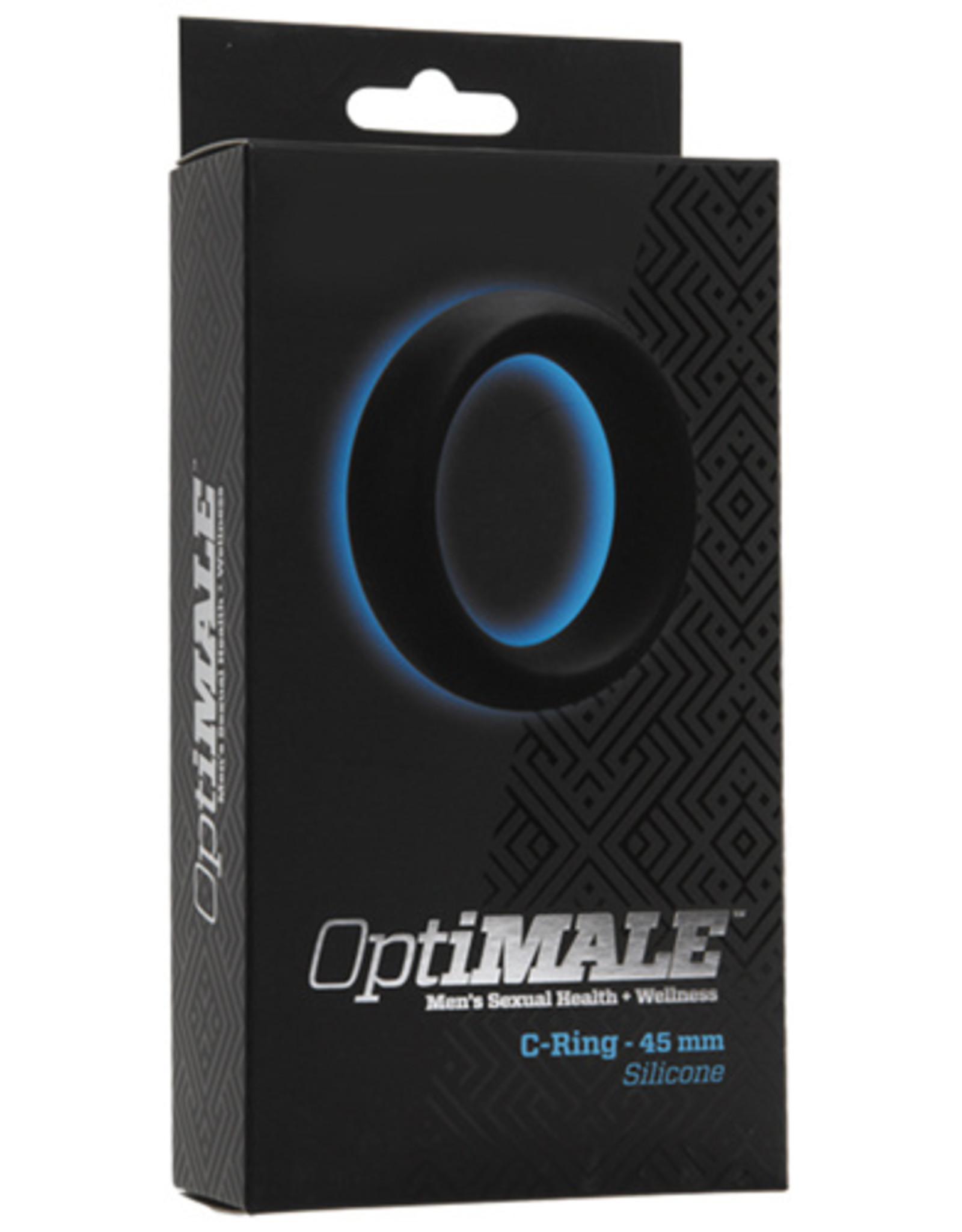 OptiMALE Cockring - 45mm - Zwart