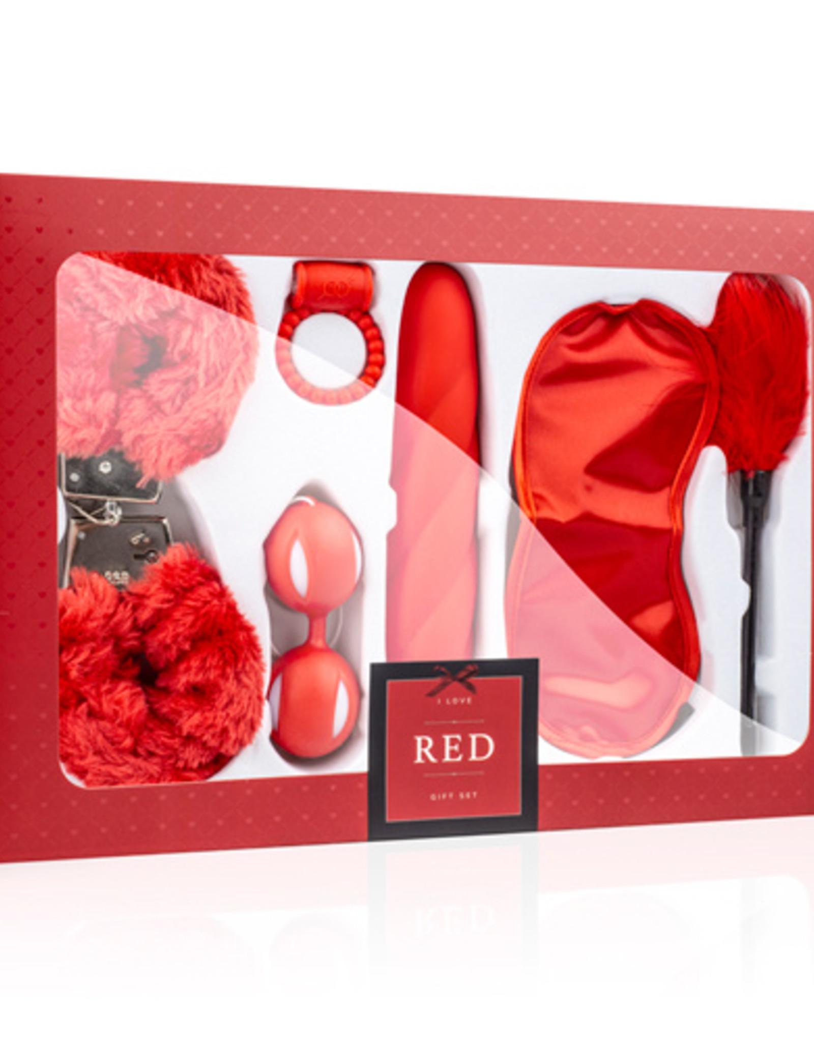LoveBoxxx LoveBoxxx - I Love Red Couples Box