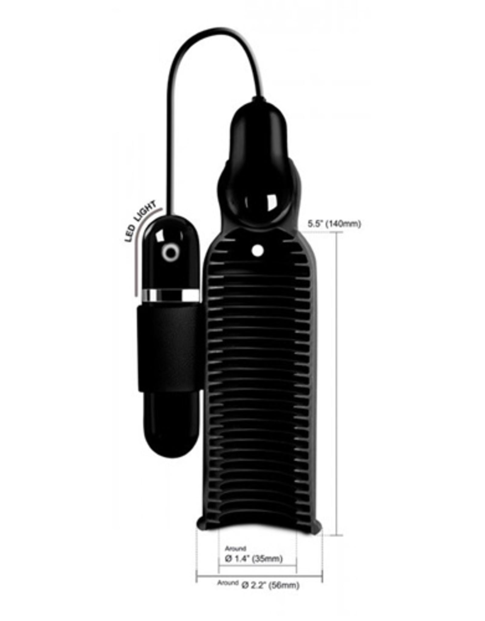 Trinity Vibes Lightning Stroke Masturbator Met Bullet Vibrator