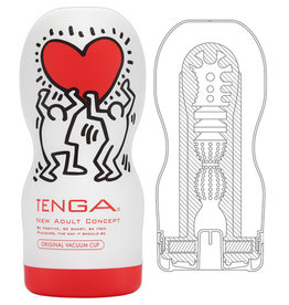 Tenga Tenga Masturbator Keith Harings Original Vacuum