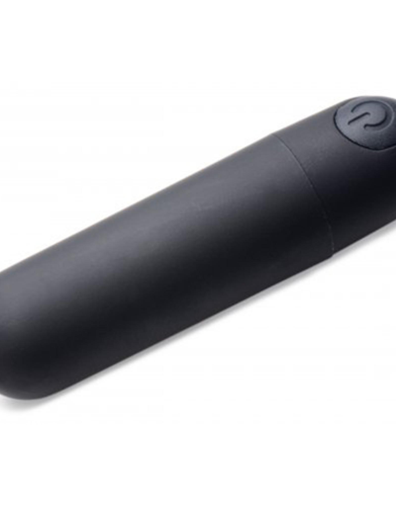 Bang! Bang! Bullet Vibrator Met Afstandsbediening - Zwart