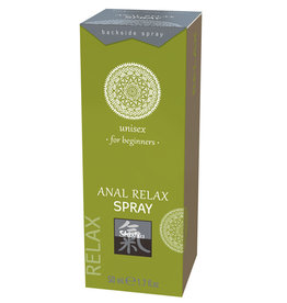 Shiatsu Anal Relax Spray - Voor Beginners