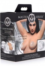 Master Series Clear Plungers Tepelzuigers - Large