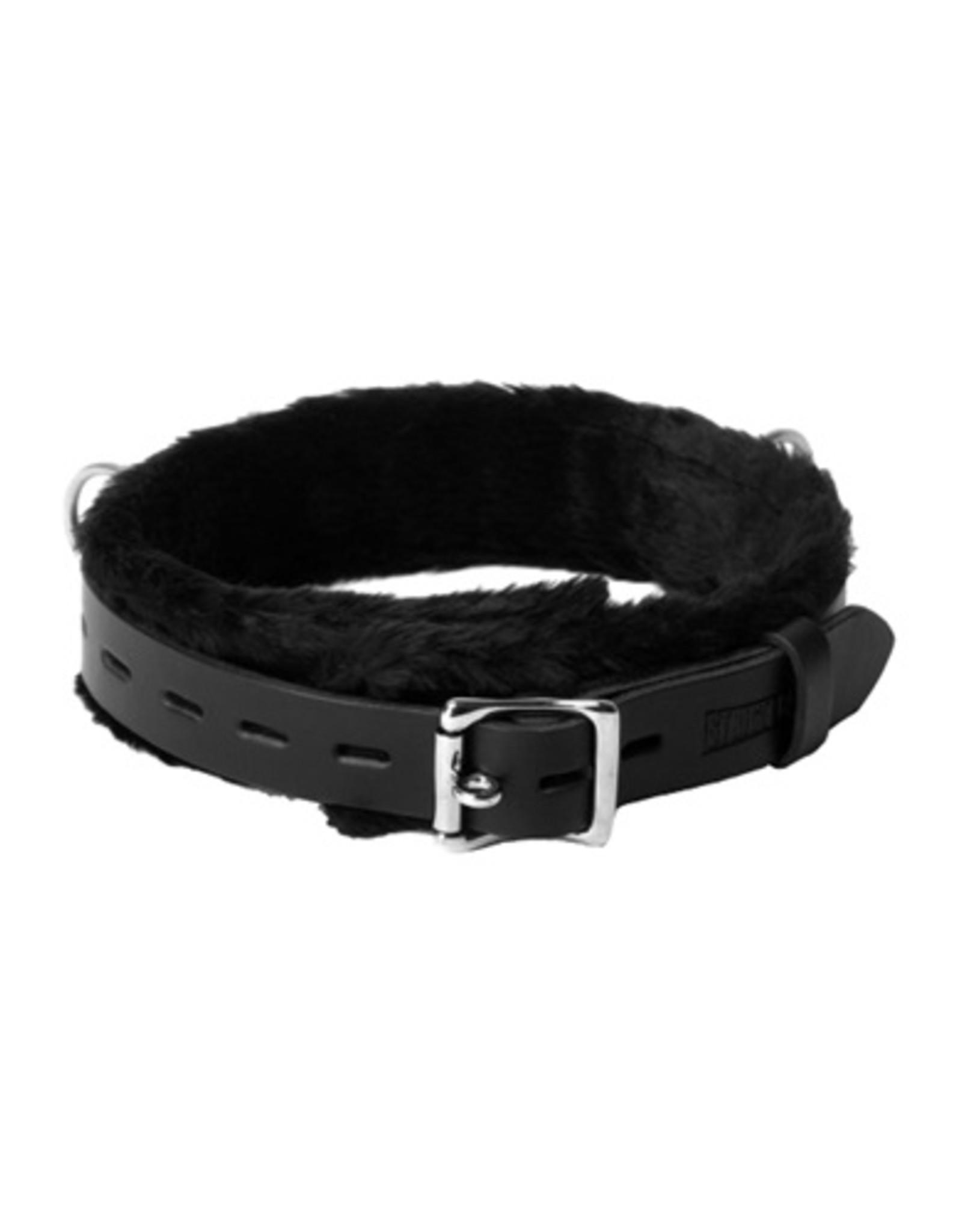 Strict Leather Leren Gevoerde Halsband