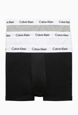 Calvin Klein Calvin Klein Slip 3 Pack - Zwart/Wit/Grijs