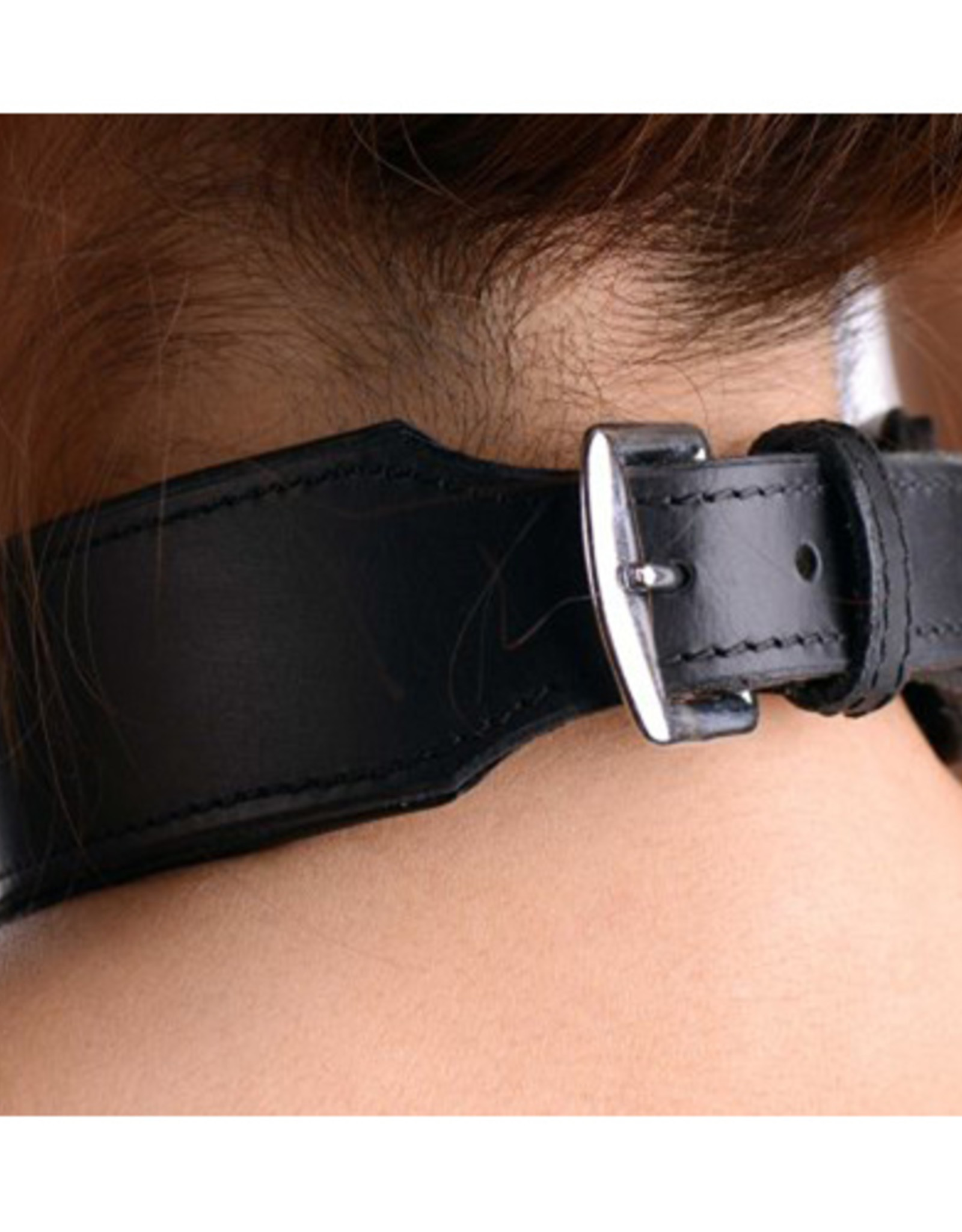 Strict Leather Lederen Halsband Met 'Slut' Studs Design