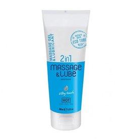HOT Hot Massagegel & Glijmiddel 2in1 - Silky Touch