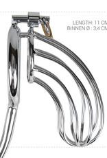 Sinner Gear Unbendable Sinner - Metalen Peniskooi Met Anaal Haak