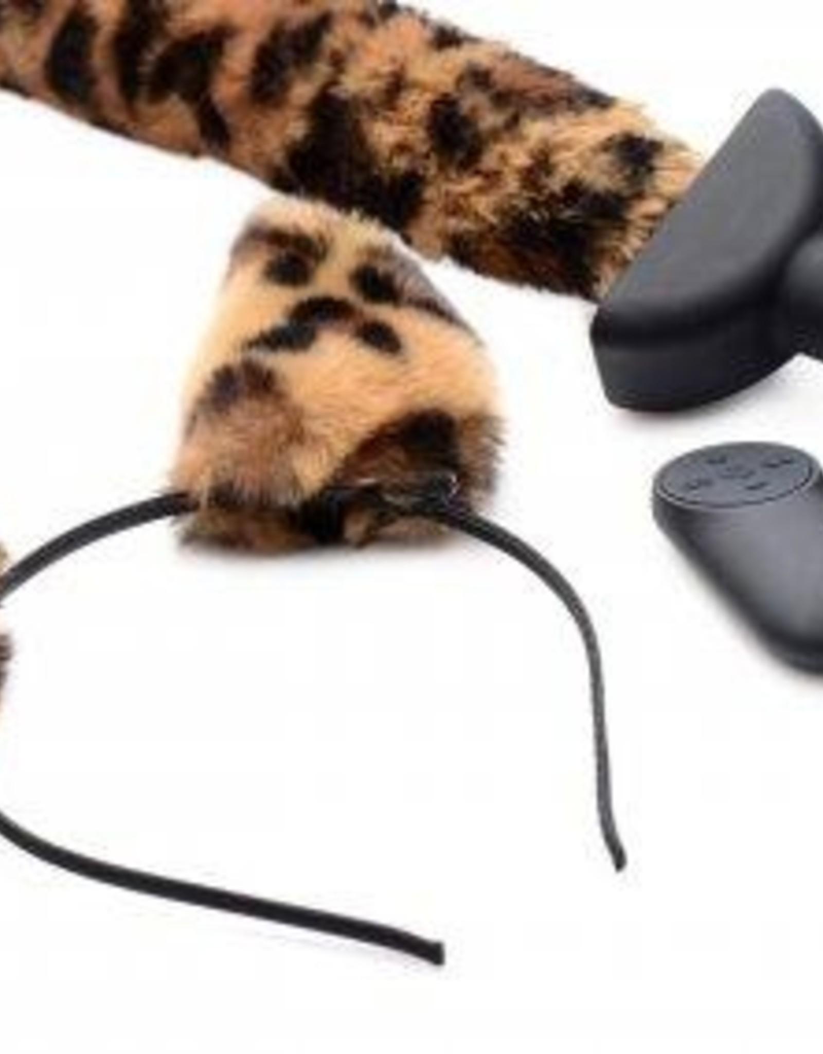 Tailz Bewegende en Vibrerende Anaal Plug Panterstaart