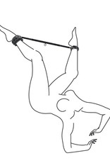Easytoys Fetish Collection Expander Spreader Bar and Cuffs Set