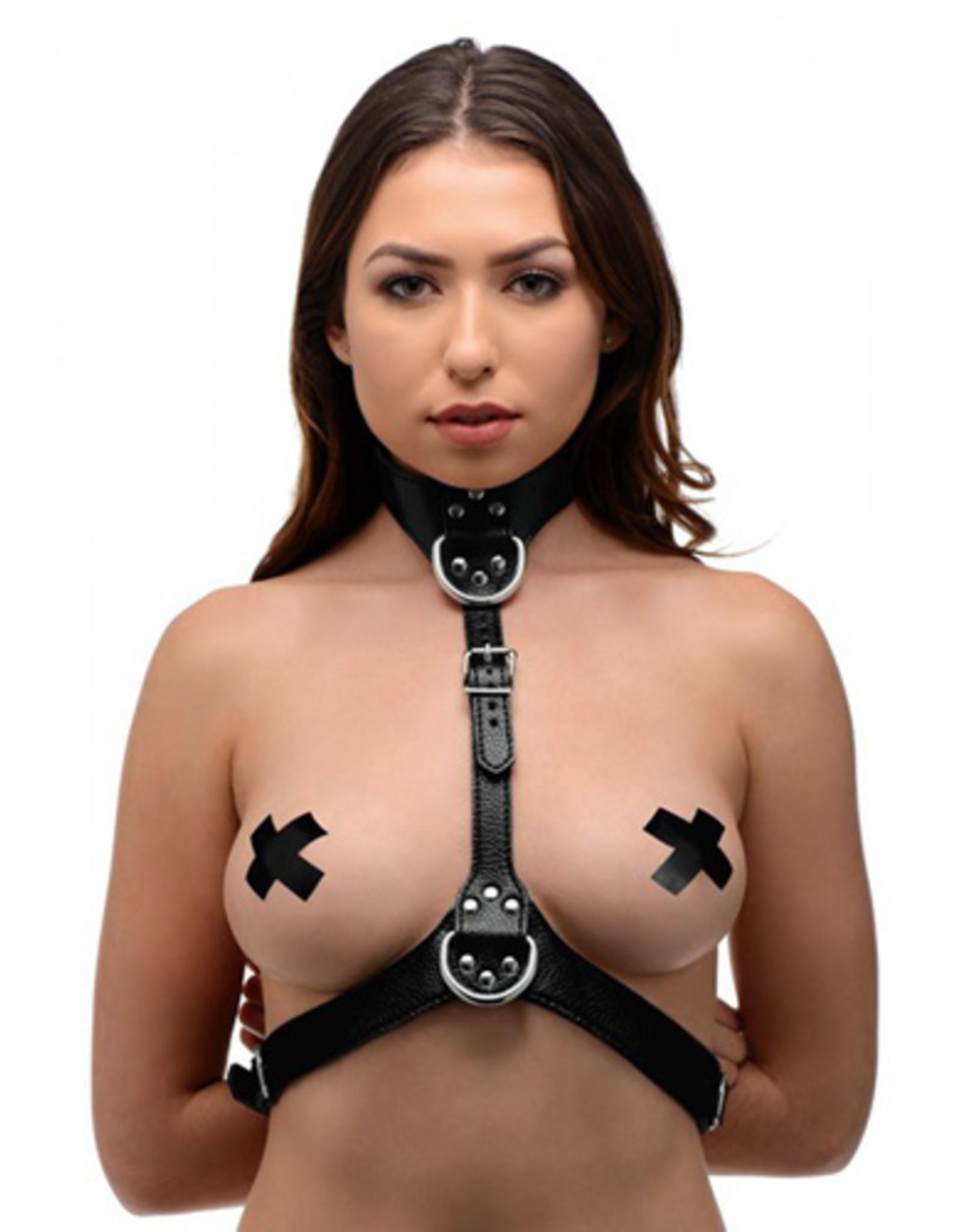 Strict Bondageharnas Voor Vrouwen