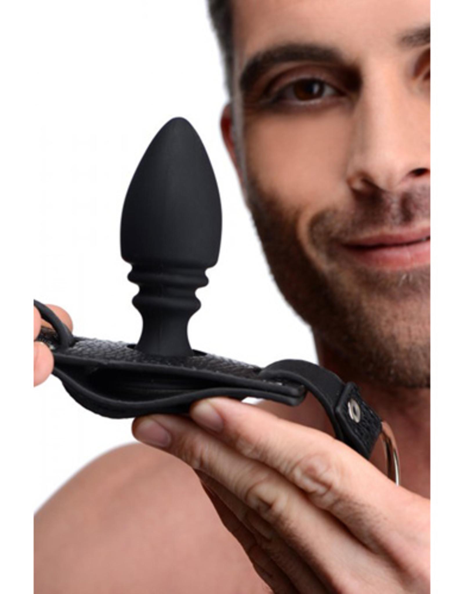 Strict Harnas Met Cockring En Buttplug
