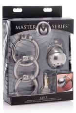 Master Series Exile Deluxe Peniskooi - Extra kort