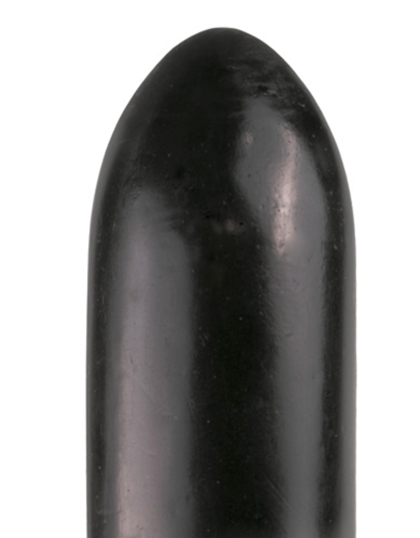 All Black All Black Dildo 22.5 cm - Zwart
