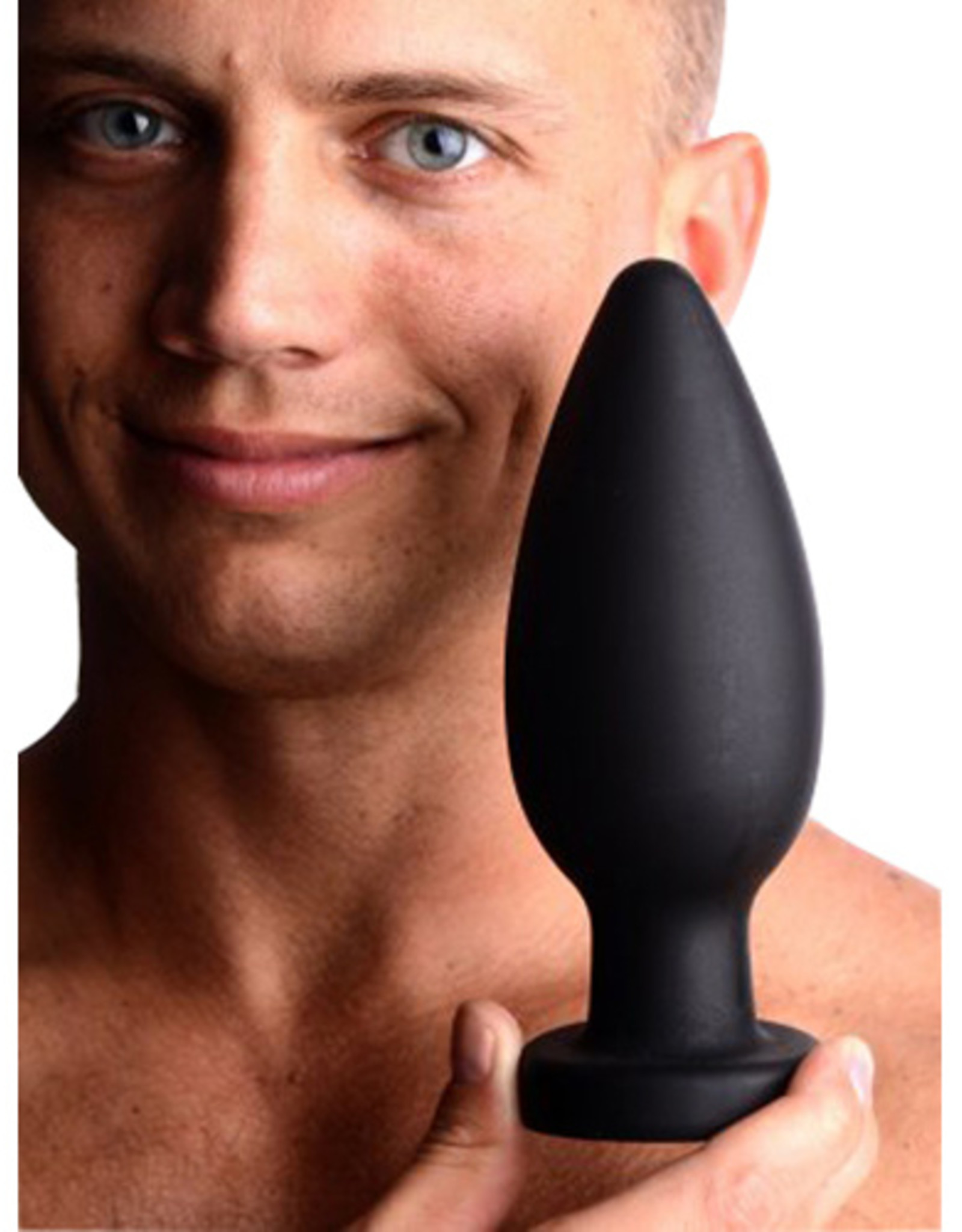 Master Series Colossus XXL Silicone Anal Suction Cup Plug