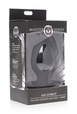 Master Series Ass Goblet Holle Buttplug