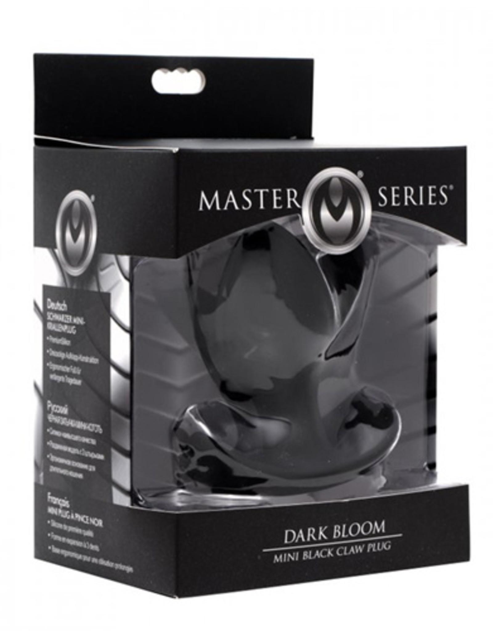 Master Series Dark Bloom Buttplug
