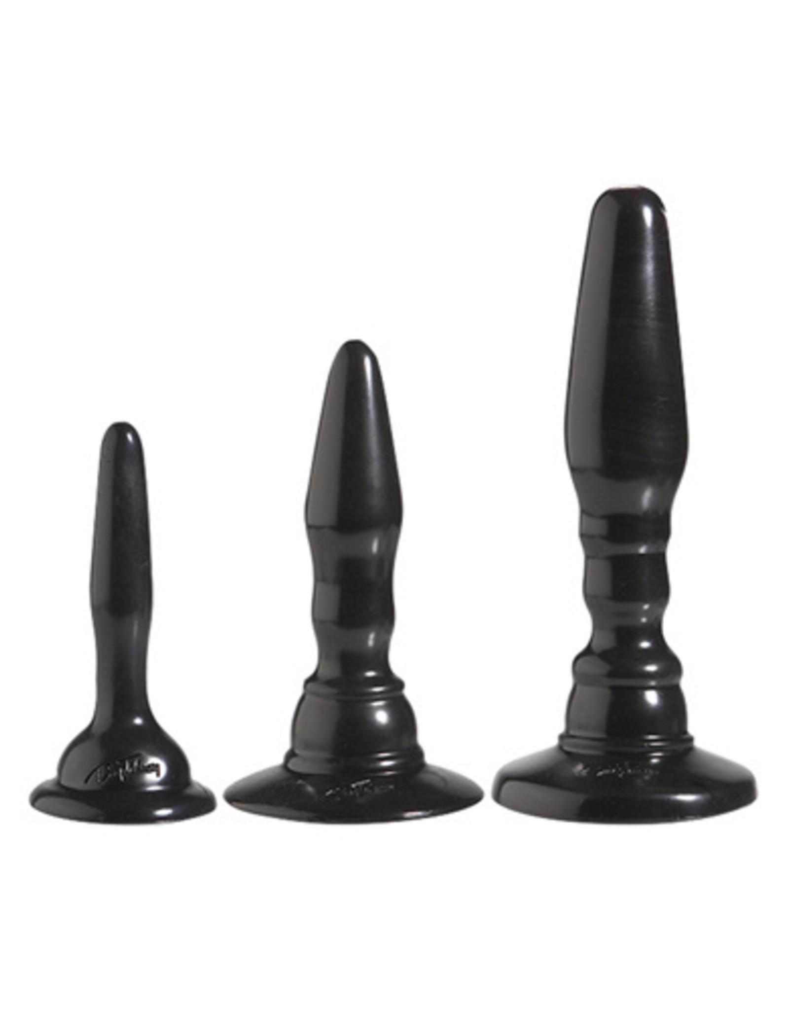 Doc Johnson Driedelige anaal kit