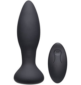 A-Play Thrust Experienced Stotende Buttplug - Zwart