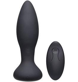 A-Play Vibe Experienced Vibrerende Buttplug - Zwart