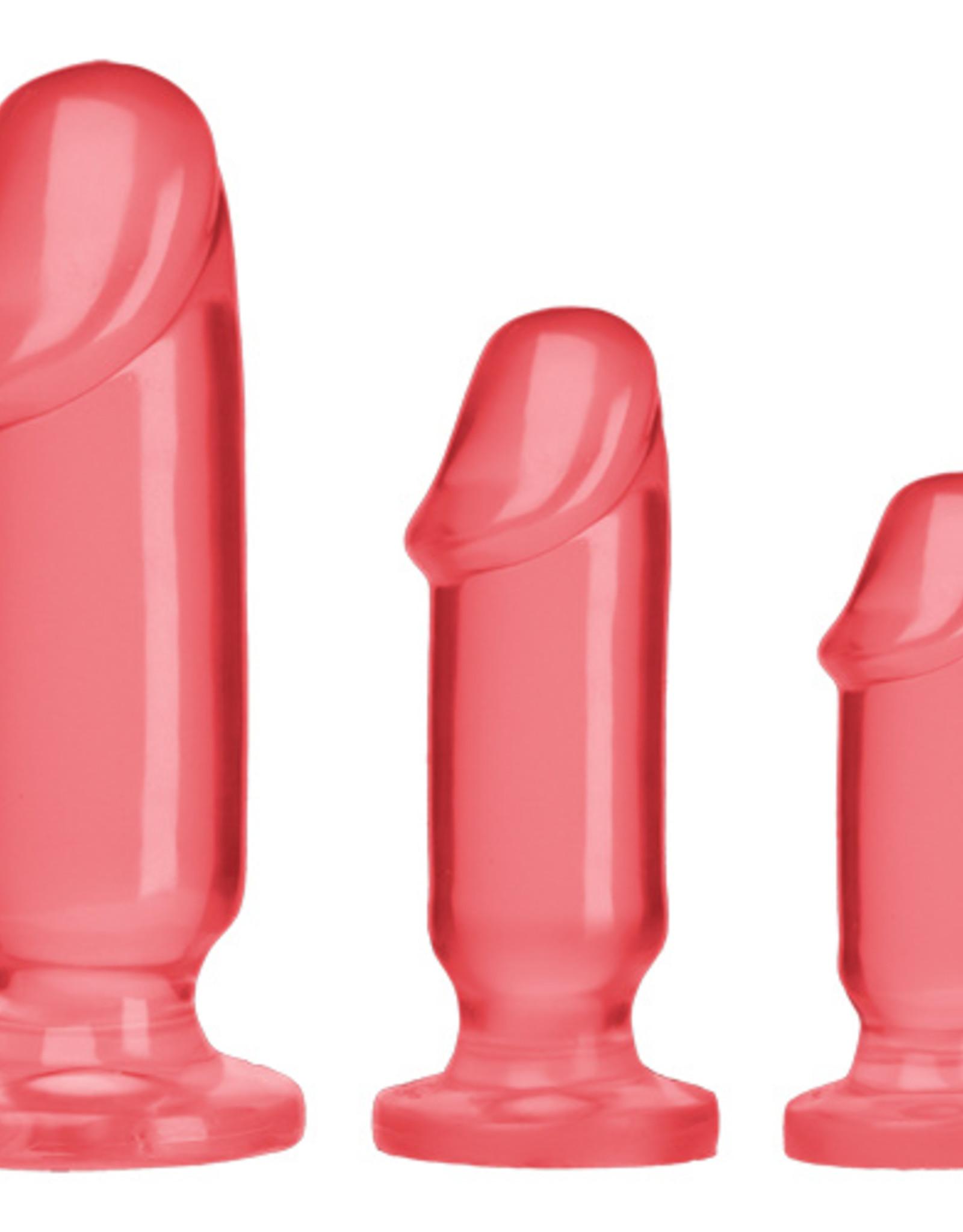 Crystal Jellies Anal Starter Kit - Roze