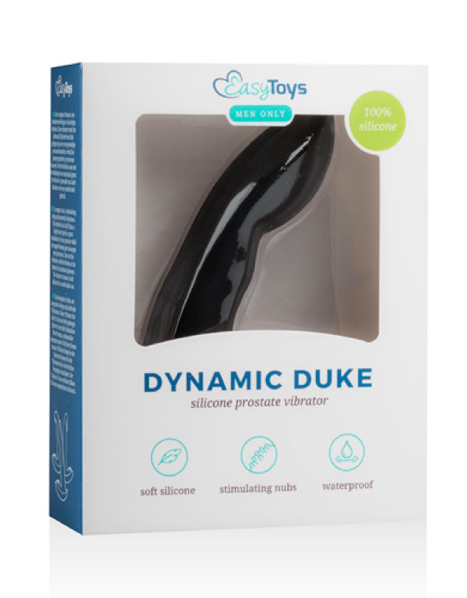 Easytoys Men Only Dynamic Duke Prostaatvibrator - Zwart