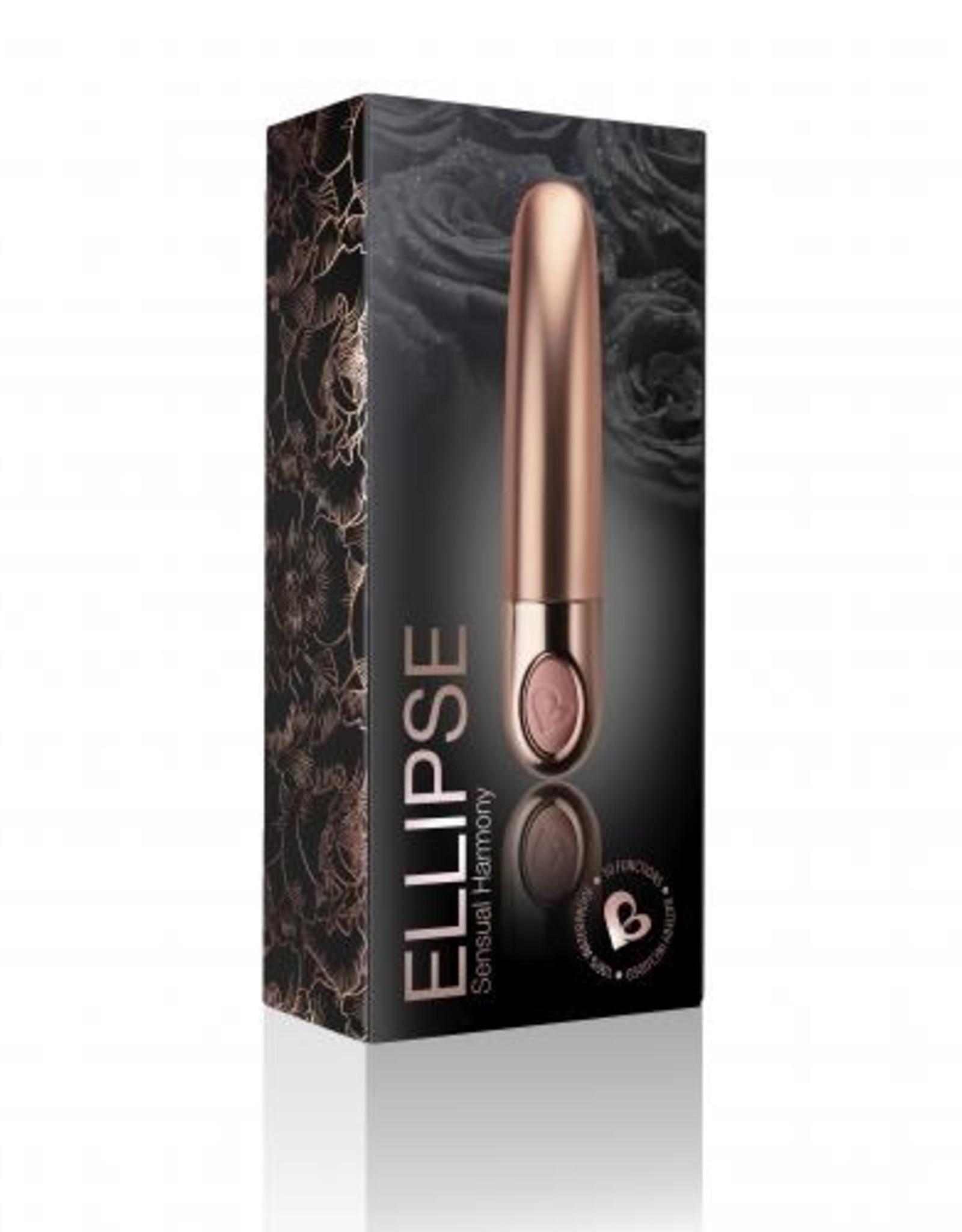 Rocks Off Ellipse - Mini Bullet Vibrator - Dusk Pink