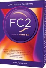 Asha International FC2 Vrouwen Condooms - 3 st.