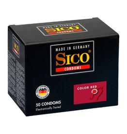 Sico Sico Color Red Aardbei Condooms - 50 Stuks