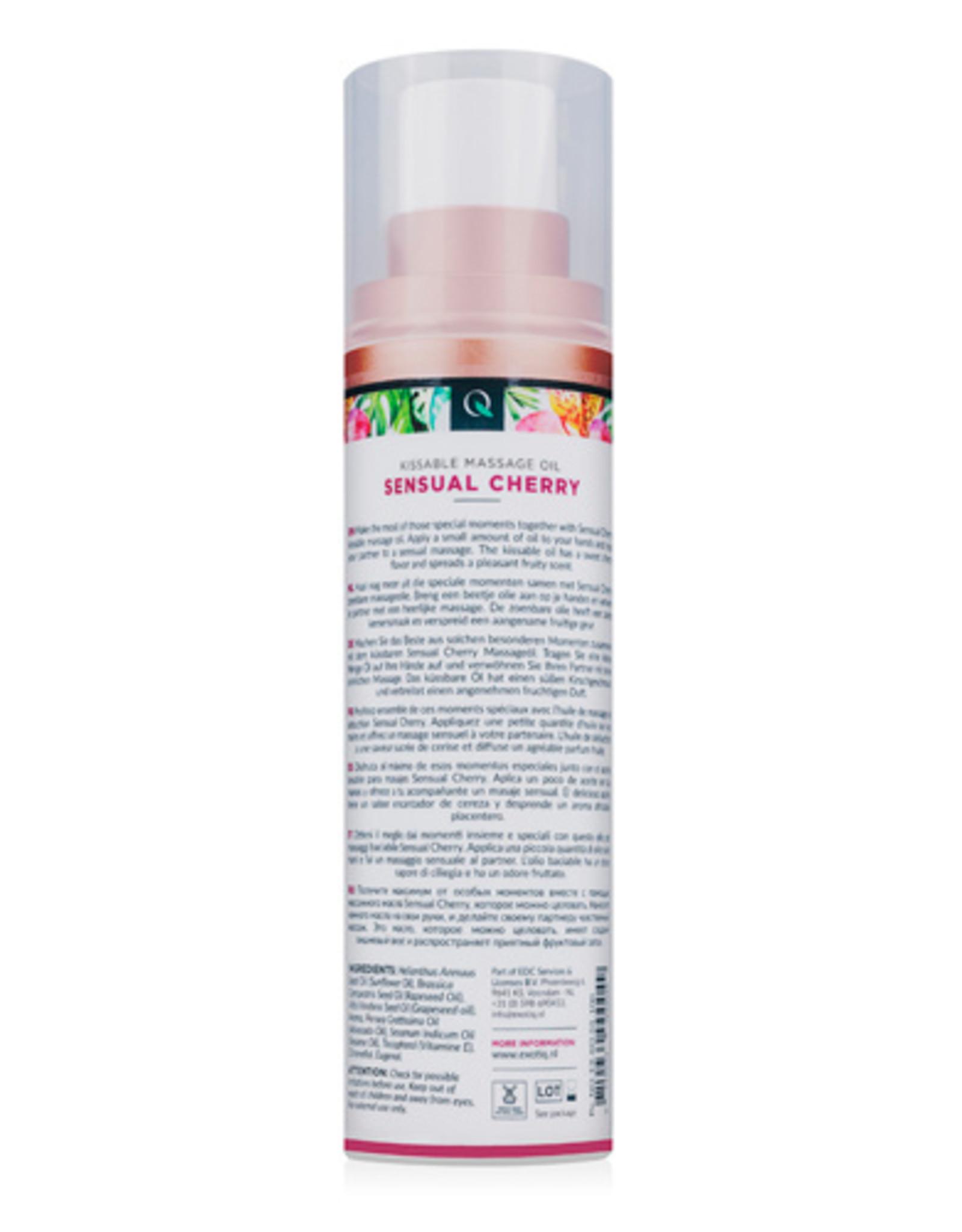 Exotiq Exotiq Massageolie Sensual Cherry - 100 ml