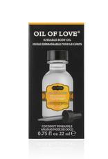 KamaSutra Coconut Pineapple - Likbare Olie - 22 ml