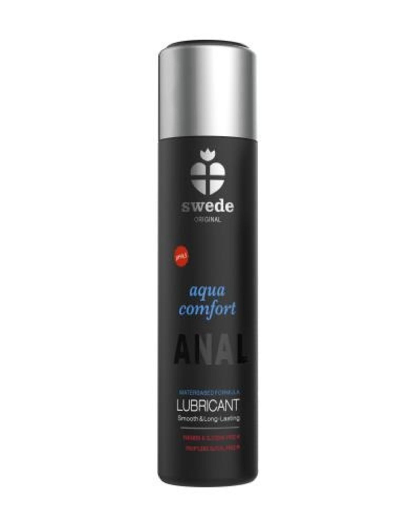 Swede Aqua Comfort Anaal Glijmiddel Waterbasis - 120ml
