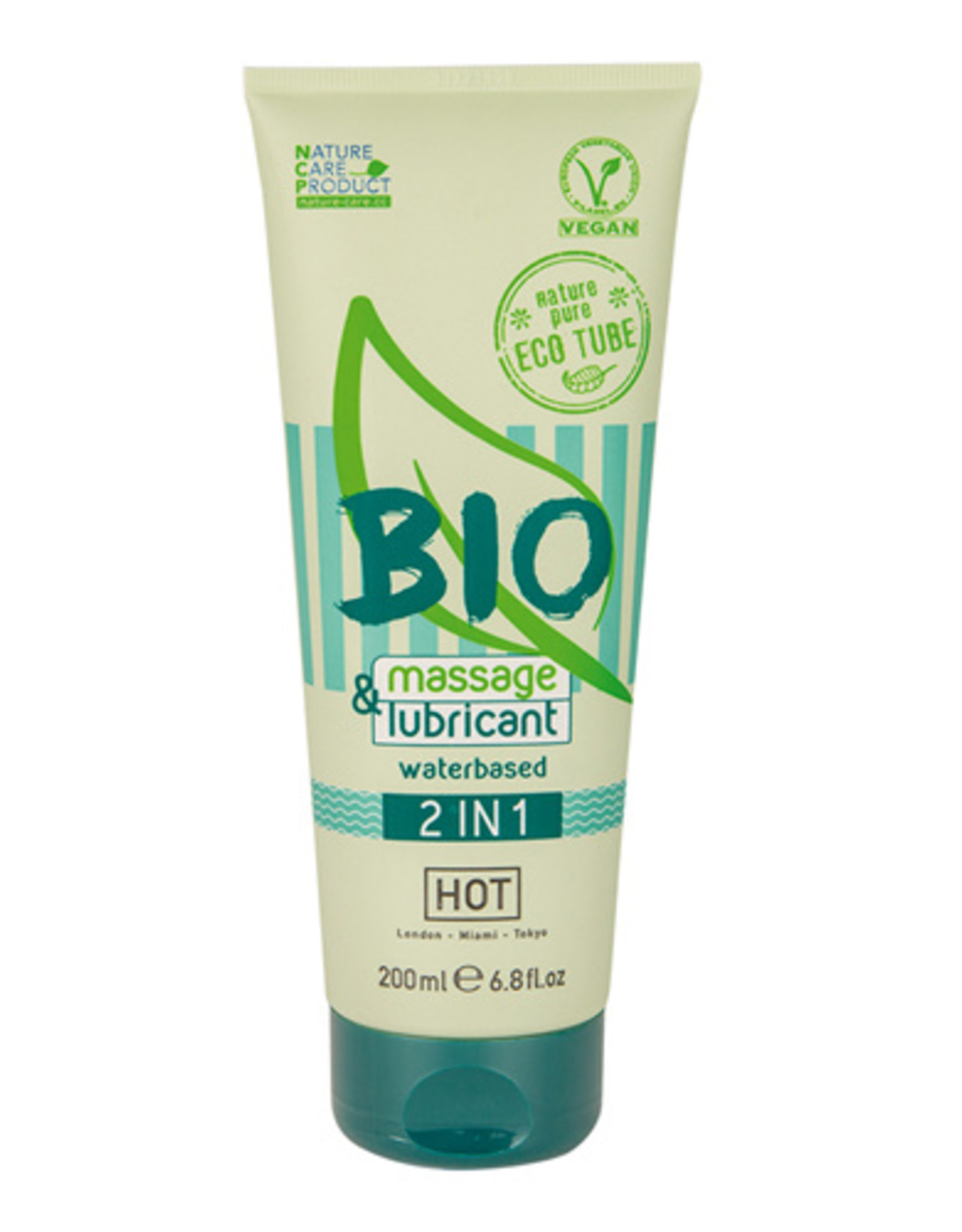 HOT Bio HOT BIO 2 in 1 Waterbasis Glijmiddel En Massagegel