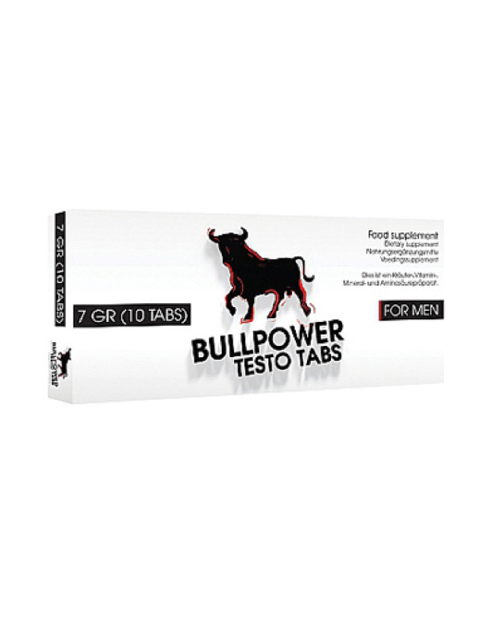 Pharmquests Bull Power Testo Tabs Erectiepillen