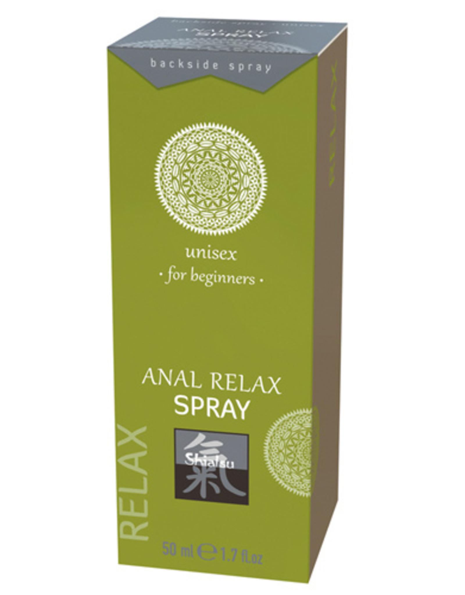 Shiatsu Anal Relax Spray - Voor Beginners