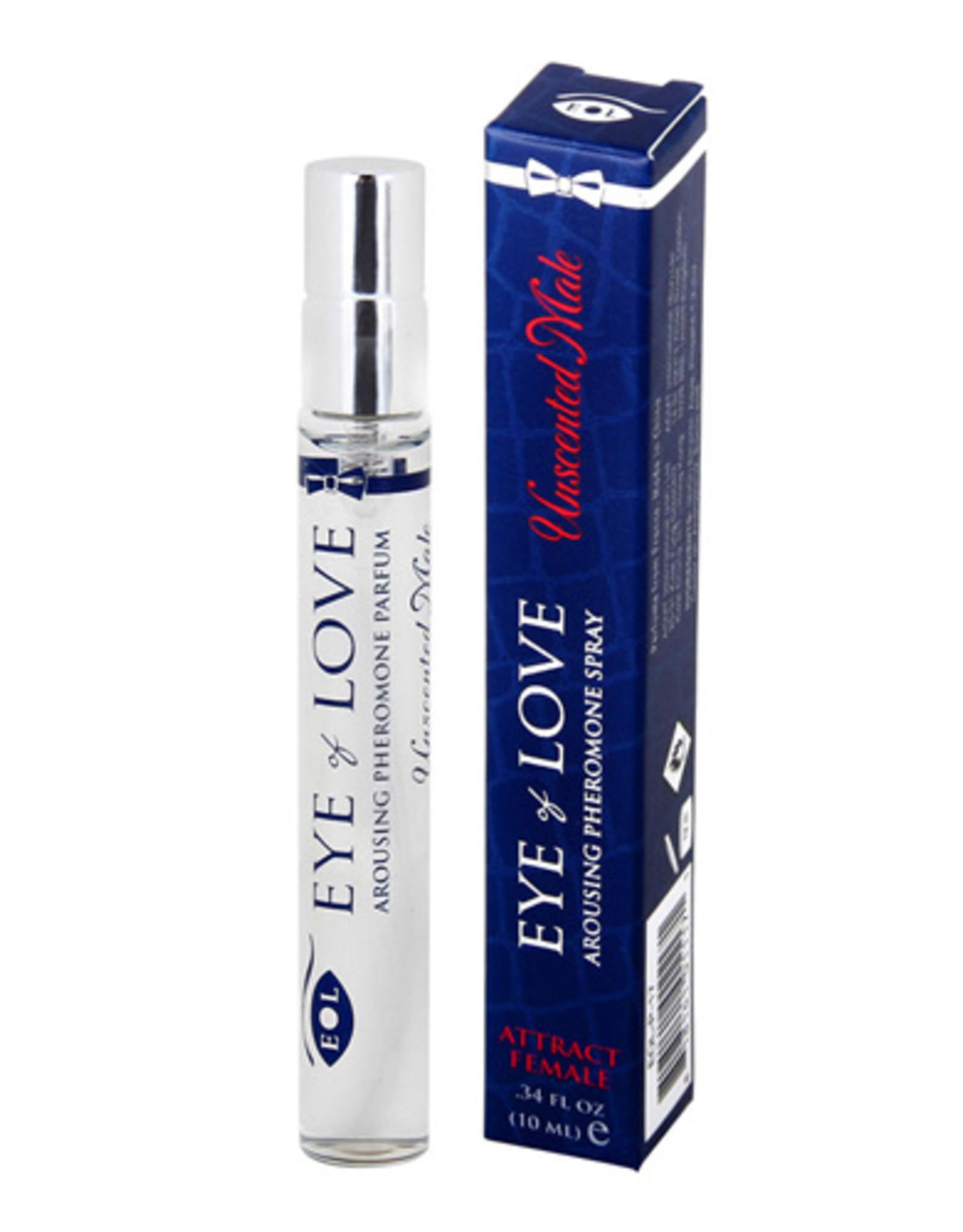 Eye Of Love EOL Body Spray Voor Mannen Geurloos Met Feromonen - 10 ml