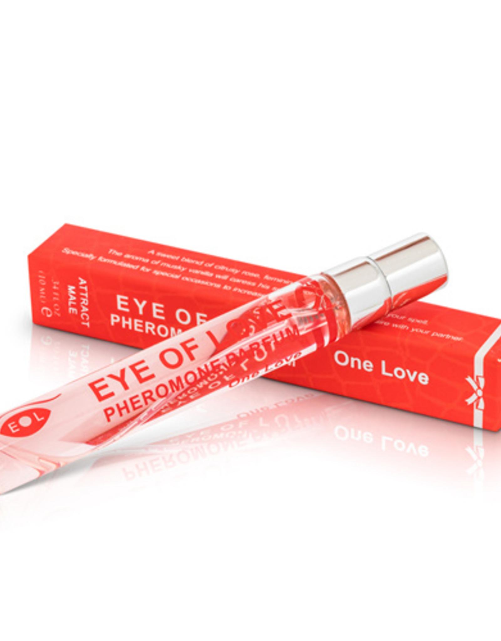 Eye Of Love Eye Of Love Bodyspray 10 ml Vrouw Tot Man - ONE LOVE