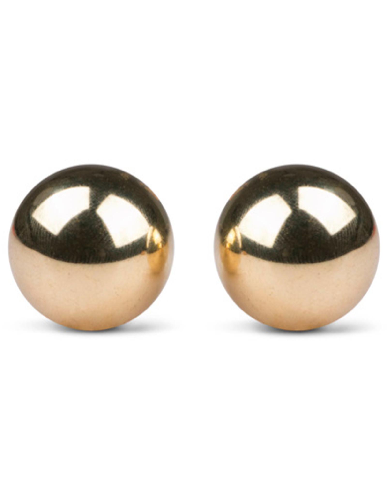 Easytoys Geisha Collection Easytoys Ben Wa Ballen 22mm - Goudkleurig