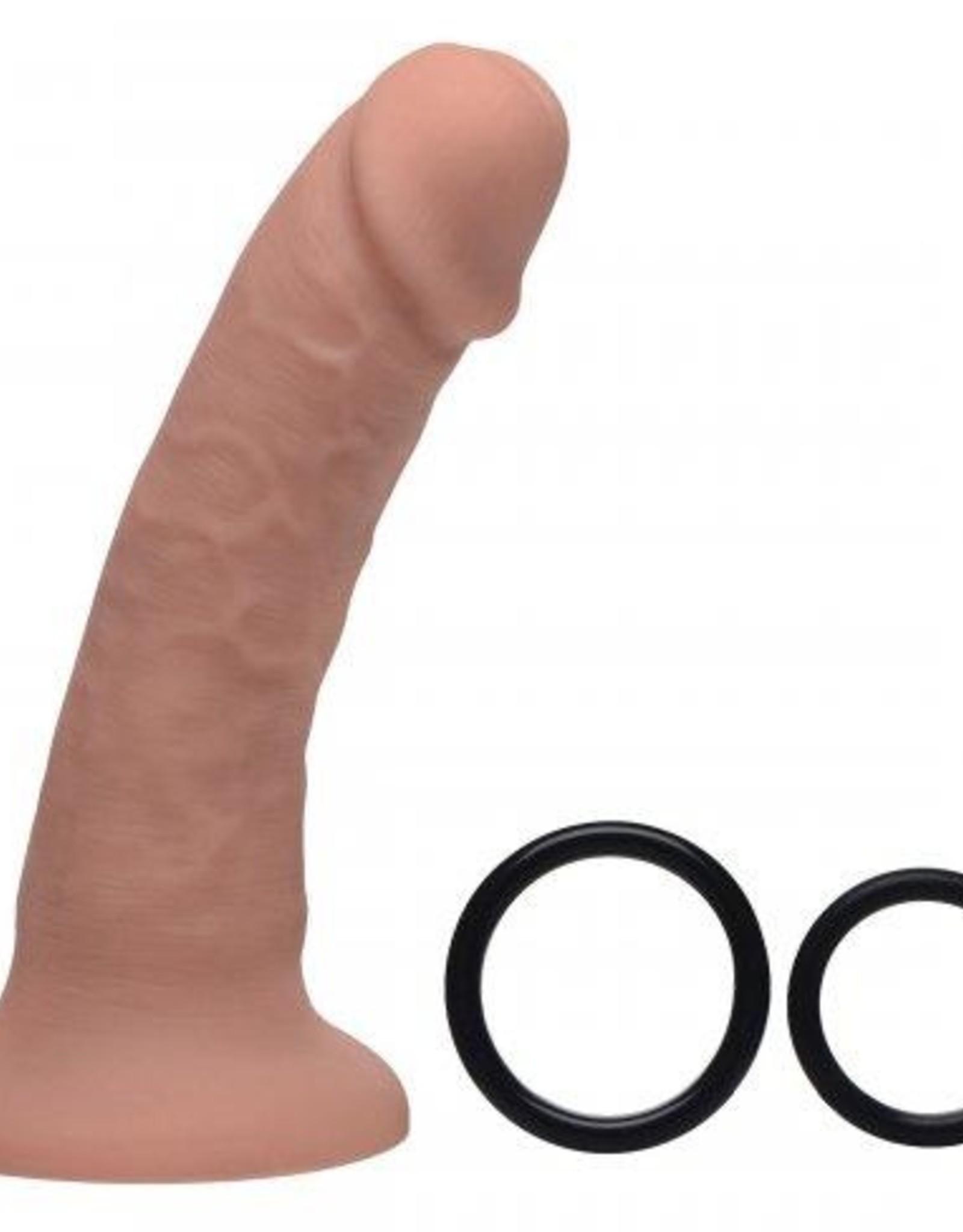 Strap U Brazen Siliconen Dildo Met Harnas - 20 cm