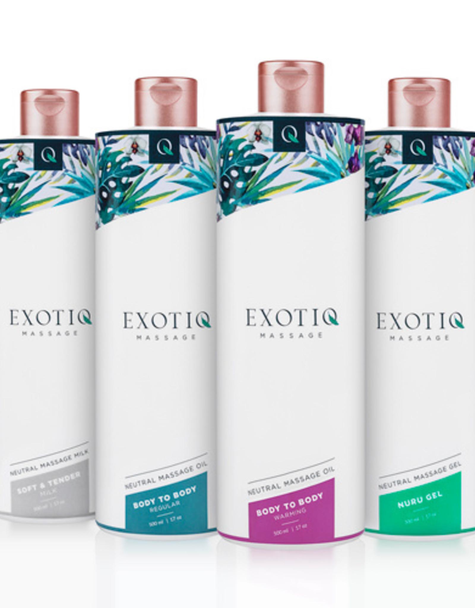 Exotiq Exotiq Body To Body Verwarmende Massageolie - 500 ml