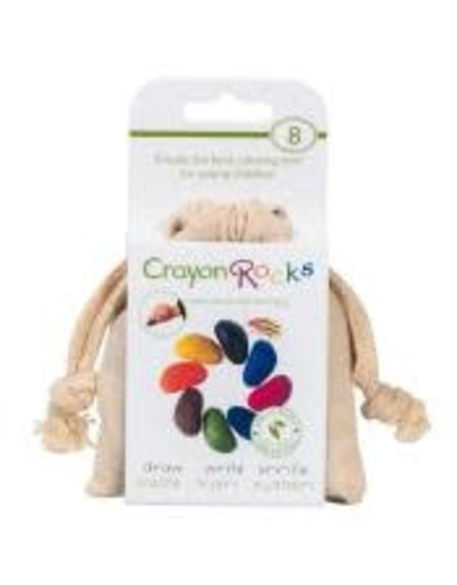 Poppik Crayons Rock  - 8 couleurs