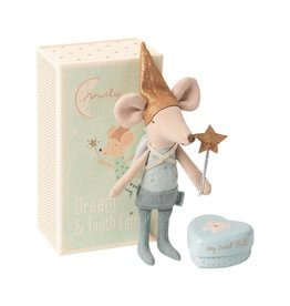 MAILEG Tooth fairy mouse in matchtbox, Big Brother