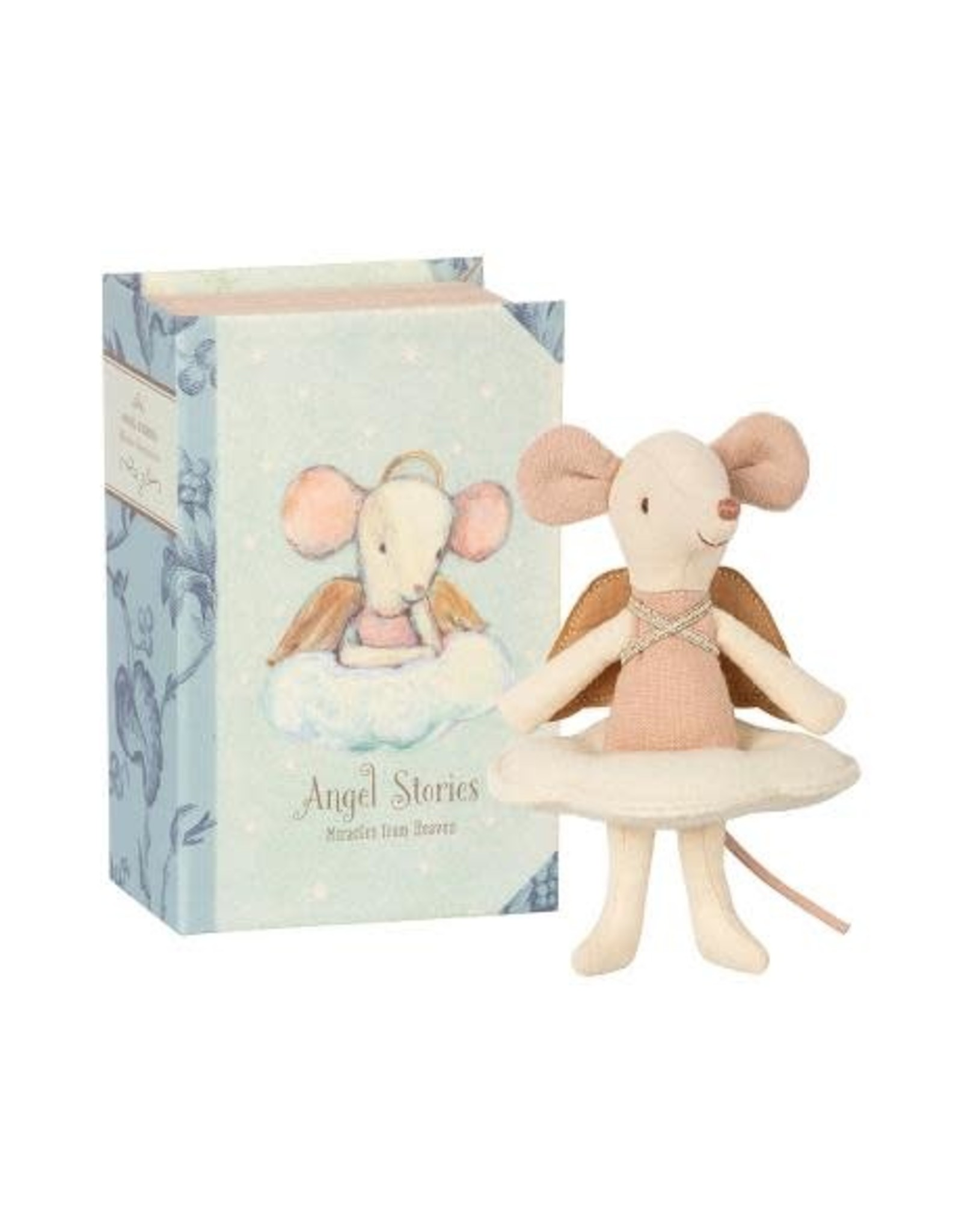 MAILEG Angel mousse, big sister in book