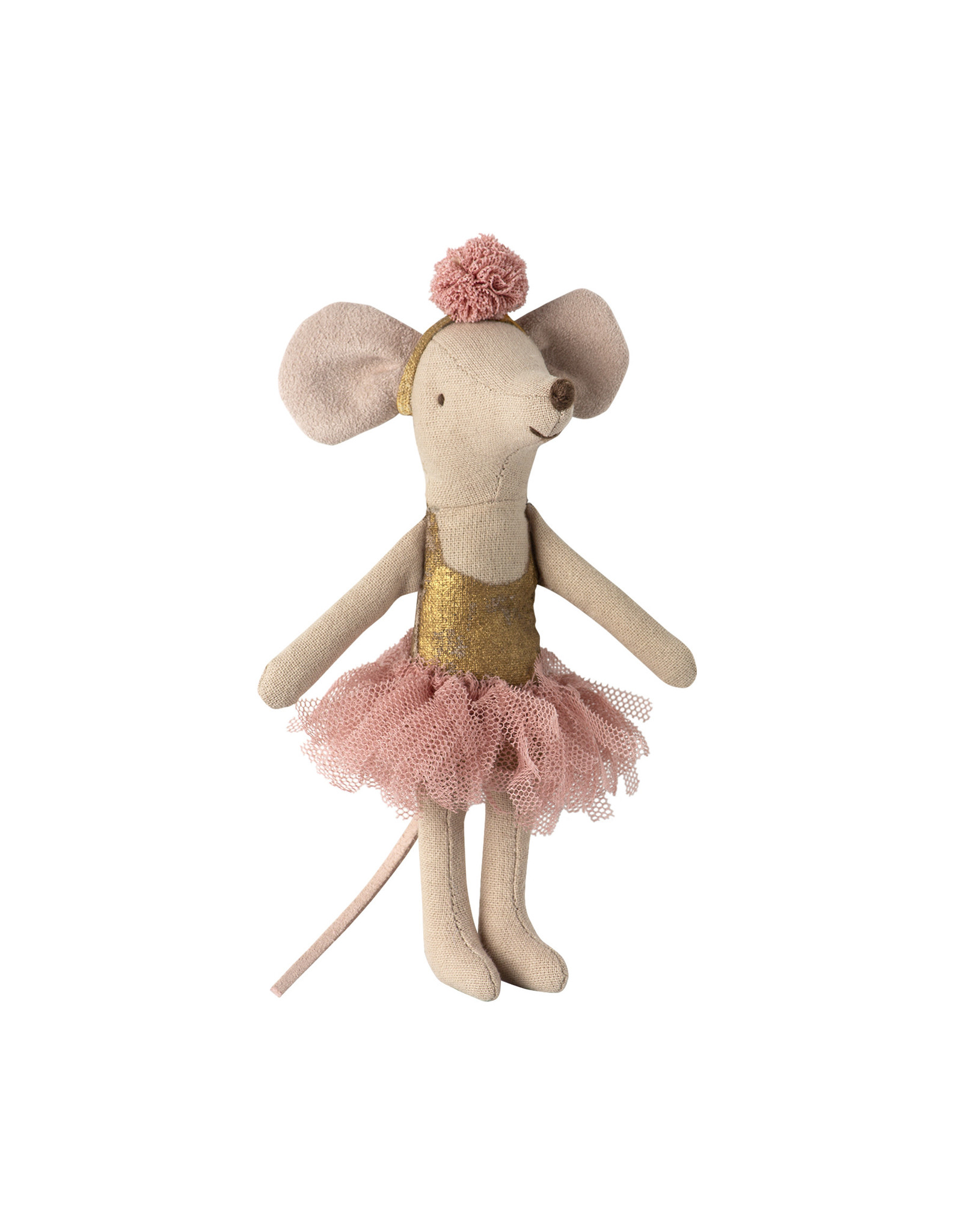 MAILEG Dancing mouse in daybed, Little sister
